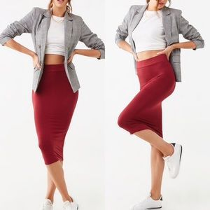 Dresses & Skirts - High Waisted Pencil Skirt
